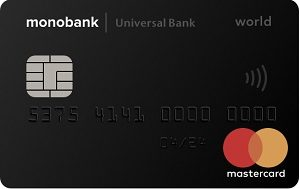 Кредитная карта «Monobank»
