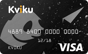Виртуальная кредитная карта «Kviku»